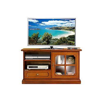 Mobile tv anta vetrina in stile 1 anta 1 cassetto