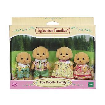 Sylvanian Familie Toy Pudel Familie
