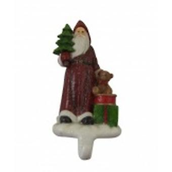 Gisela Graham Weighted Father Christmas Stocking Holder | Gifts From Handpicked