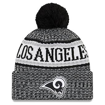 New era NFL sideline 2018 Bobble hat of Los Angeles Rams