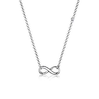 Elli Necklace with Women's Pendant in Silver 925 with Diamond