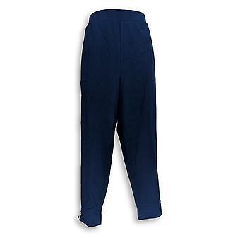 Susan Graver Petite Leggings 1XP Weekend Premium Stretch Blue A346395