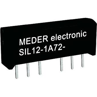 Reed relay 1 maker 12 Vdc 0.5 A 10 W SIL 4 StandexMeder Electronics
