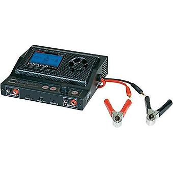 Scale model multifunction charger 12 V 20 A Graupner Ultra Duo Plus 45 Lead-acid, Li-ion, LiPolymer, NiCd, NiMH