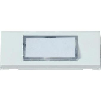 Bell panel backlit, with nameplate 1x Heidemann 70050 White 24 V/1 A