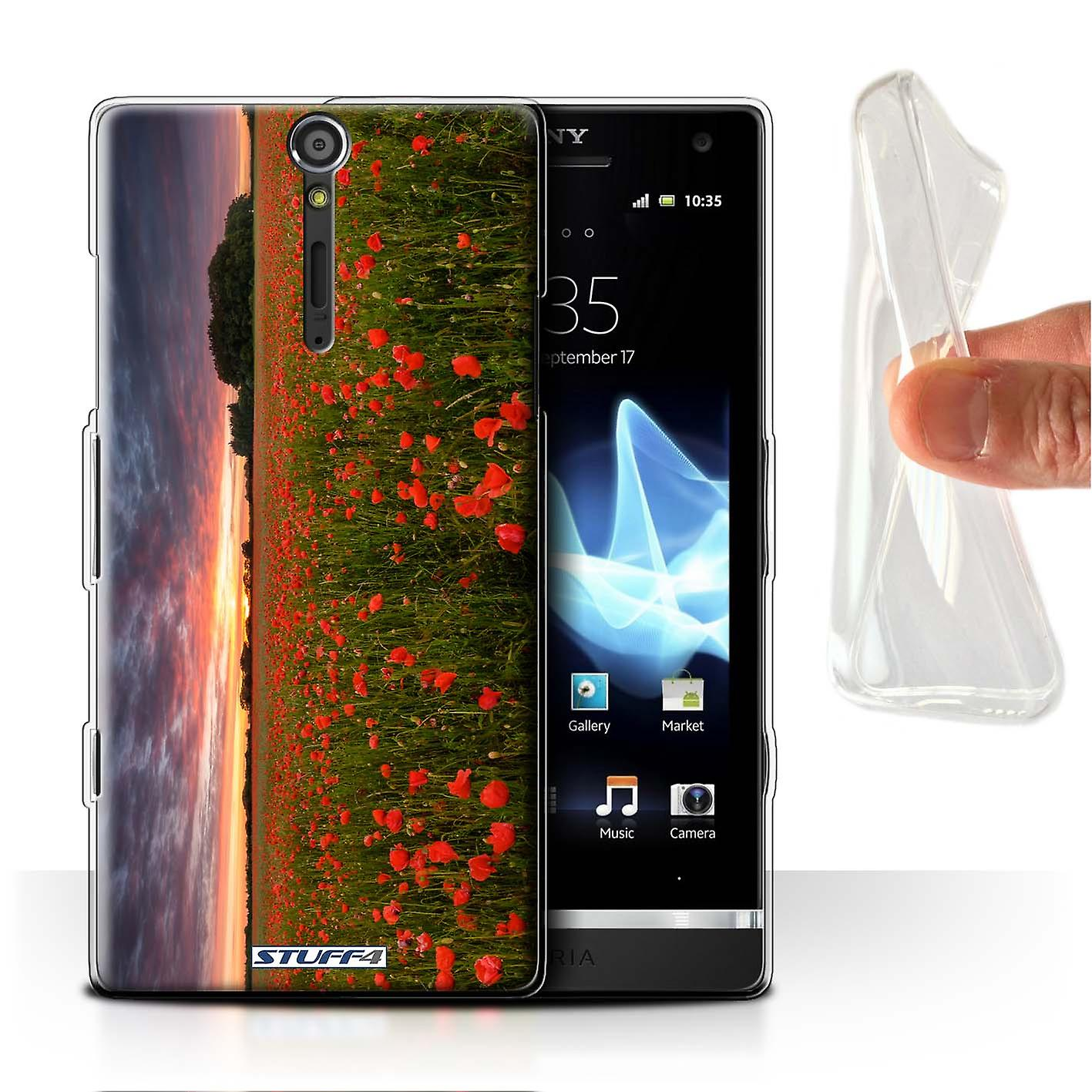 best service f644f 3f28c STUFF4 Gel/TPU Case/Cover for Sony Xperia S/LT26i/Evening Sunset ...