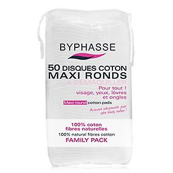 Byphasse Cotton Maxi Round discs 50 Units