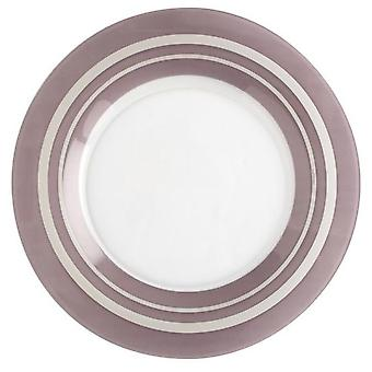 Luminarc Plato Llano 25Cm Purple Loo Parts