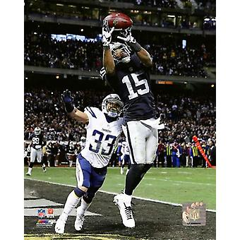 Michael Crabtree 2015 Action Photo Print