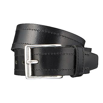 LLOYD Men's belt belts men's belts leather belts men's leather belts black 3317