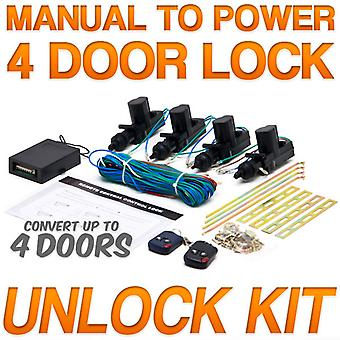 Power Car Door Lock / Unlock Kit Keyless Remote For Nissan Maxima NX Pathfinder Rogue Sentra Titan