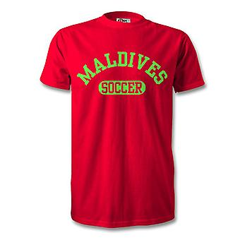 Maldives Soccer Kids T-Shirt