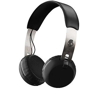SKULLCANDY Headphone Grind Black/Chrome On-Ear Wireless Mic