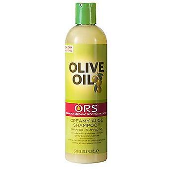 ORS raíz orgánica estimulador aceite cremoso Aloe Shampoo 370ml