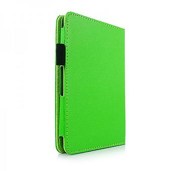 Cover art leather bag Green for Amazon Kindle 6 version 2014