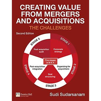 Creating Value from Mergers and Acquisitions (Paperback) by Sudarsanam Sudi