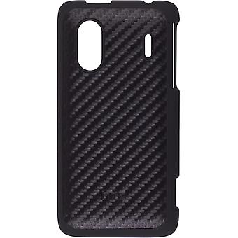HTC Hard Shell Case voor HTC Hero S - zwart / Carbon Fiber