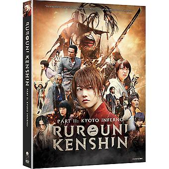 Benthes Kenshin del II: Kyoto-Inferno [DVD] USA importerer