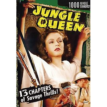 Jungle Queen (1945) [DVD] USA importerer