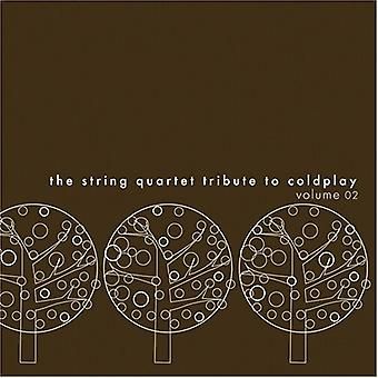Tribute to Coldplay - Vol. 2-String Quartet Tribute to Coldplay [CD] USA import