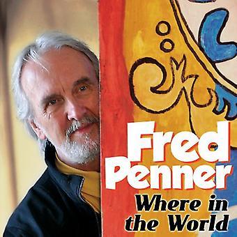 Fred Penner - hvor i verden [CD] USA importen