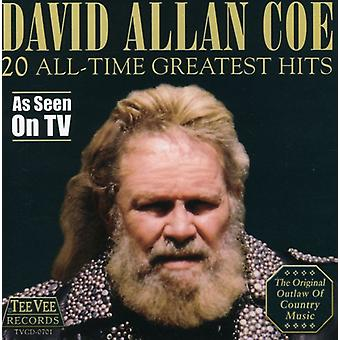 David Allan Coe - 20 All-Time Greatest Hits CD] USA import