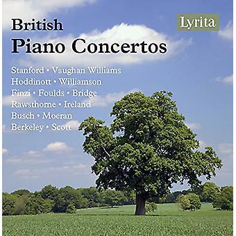 Britiske Piano Concertos / forskellige - britiske Piano Concertos / forskellige [CD] USA import