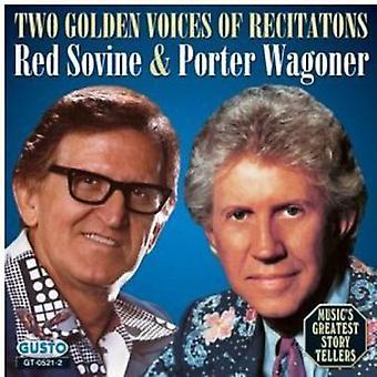 Sovine/Wagoner - Two Golden Voices of Recitat [CD] USA import