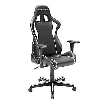 DX Racer DXRacer OH/FH08/NW High-Back Ergonomic Computer Chair PU(Black/White)