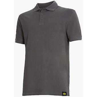 Utility Diadora Short Sleeve Polo II Grey Atlar
