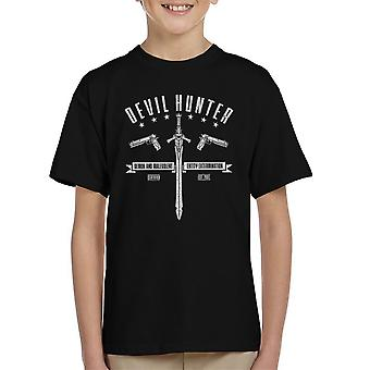 Djævelen Hunter Devil May Cry børne T-Shirt
