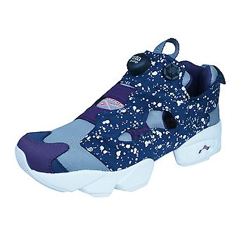 Reebok Instapump Fury SP Boys Trainers / Shoes - Grey and Blue
