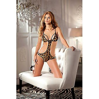 Be Wicked BW1349 1 Piece  print body with cutout sides