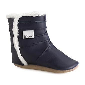 Bobux Soft Sole Winter Warmer 3978 Navy