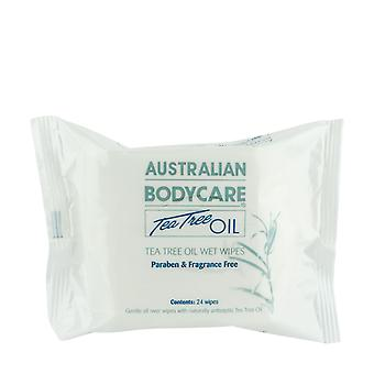 Australian Bodycare Tea Tree Oil Wet Wipes 130g