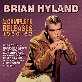 Brian Hyland - Hyland Brian-Complete Releases 1960-6 [CD] USA import