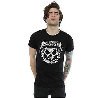 Killswitch Engage Men's Skull Emblem T-Shirt