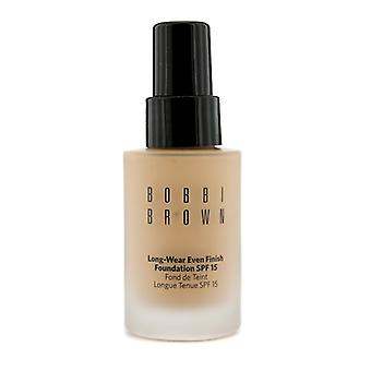 Bobbi Brown desgaste largo hasta el acabado Foundation SPF 15 - # 3.5 Warm Beige 30ml / 1oz
