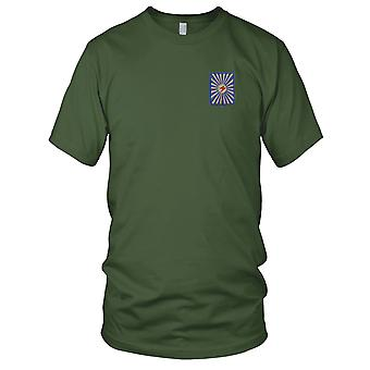ARVN Army 21st Infantry Division - Military Insignia Vietnam War Embroidered Patch - Mens T Shirt