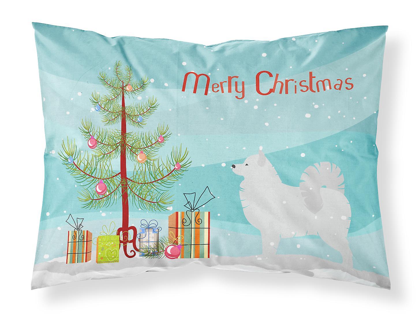 Samoyède Merry Taie Tissu Tree Du D'oreiller Standard Christmas J31uTFKlc