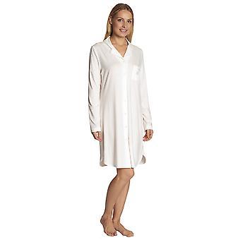 Feraud 3883031-10044 Frauen Champagner weiße Schlaf-Shirt Nighty Nachthemd