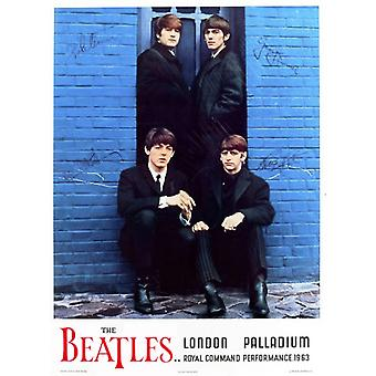 Die Beatles London Palladium 1963 Poster drucken (22 x 33)