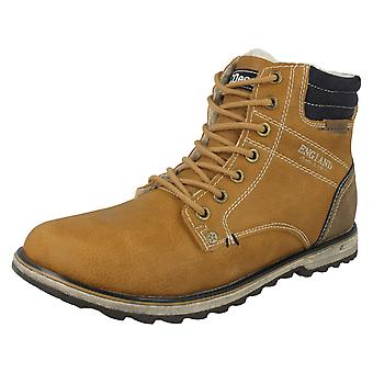 Boys JCDees Fleece Lined Ankle Boots N2033