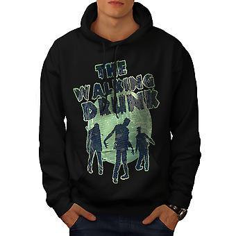 Walking beruset Party menn BlackHoodie | Wellcoda