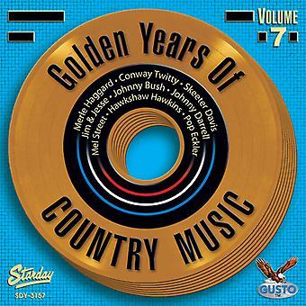 Memorie d'oro della musica Country - Vol. 7-Golden Memorie di importazione USA musica Country [CD]