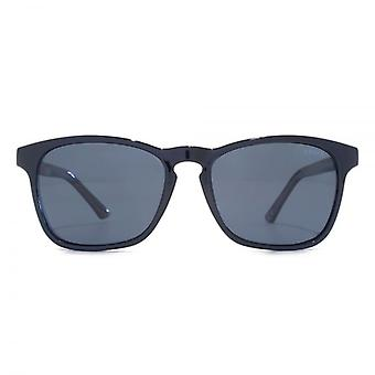 Levis Keyhole Square Sunglasses In Black Polarised