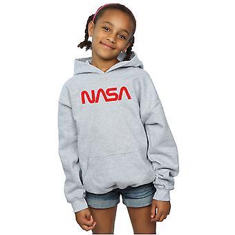 NASA ragazze moderno Logo Hoodie