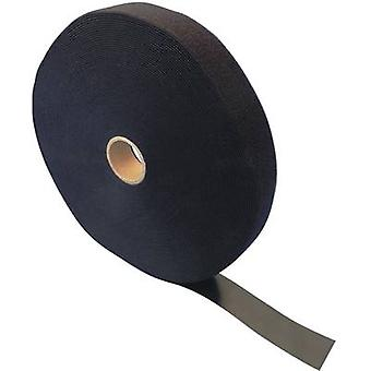 Hook-and-loop tape for bundling Hook and loop pad (L x W) 25000 mm x 30 mm