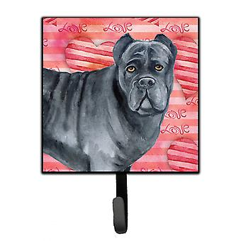 Carolines Treasures  BB9781SH4 Cane Corso Love Leash or Key Holder