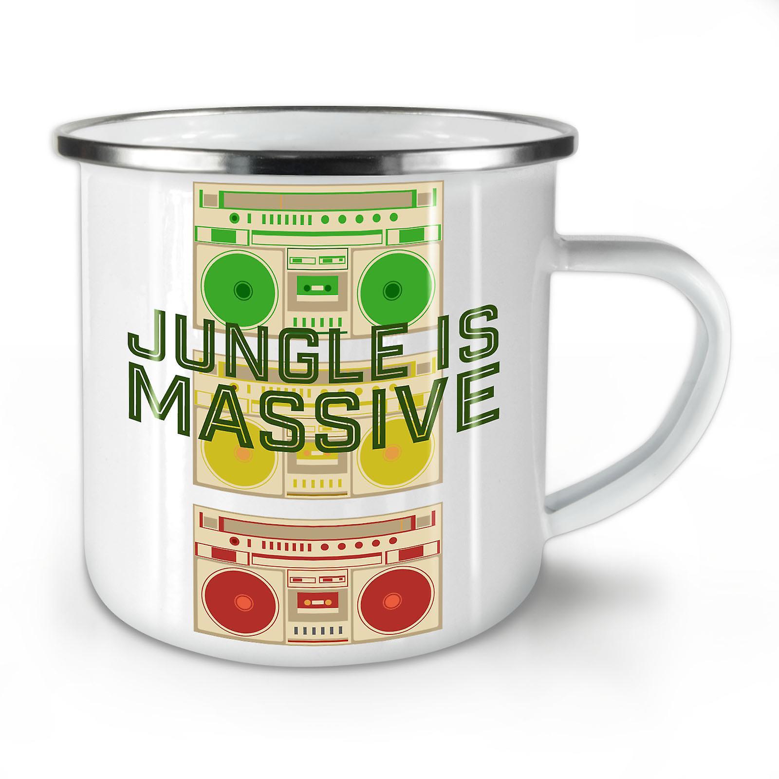 Cannabis Whitetea Mug10 Nouvelles Jungle Émail OzWellcoda Café 42 Yy76bfg